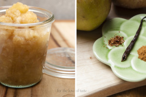 Classic apple compote with a twist