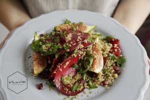 Fig & Beet Summer salad