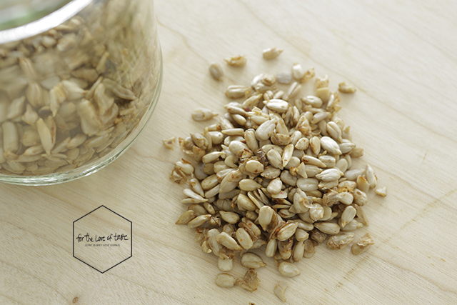 raw sprouted chili-garlic sunflower seeds