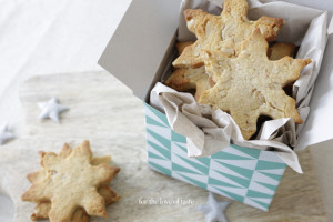 Walnut – Almond Christmas cookies, grain free